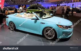 kia convertible losangeles usa nov 18 2015 kia stock photo 346544942 shutterstock