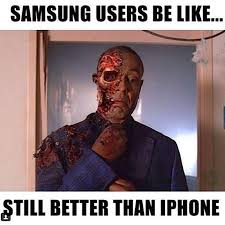 Iphone User Meme - samsung users yes pinterest samsung funny jokes and