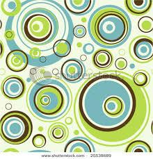 retro blue green brown circle pattern retro pattern