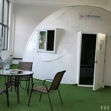 wind resistant and anti seismic prefabricated mars dome houses