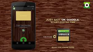 coffee time for android wear pay starbucks coffee using your