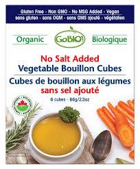 cuisine sans sel gobio vegetable bouillon cube low sodium goodness me