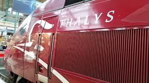 Thalys Comfort 1 J U0027ai Testé Pour Vous Le Thalys En Comfort 1 Le Blog D U0027esther B