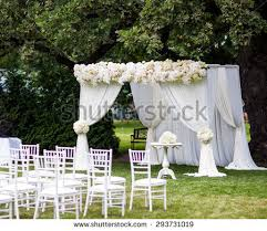wedding ceremony canopy wedding ceremony place stock images royalty free images vectors