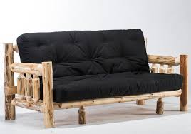 log futons u0026 rustic sleeper sofa styles rustic futon u0026 log futon