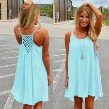 blue summer dresses for women oasis amor fashion