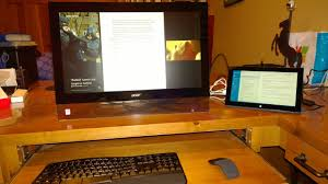 Pc Built Into A Desk Transform A Windows Tablet Into A Full Fledged Windows Pc Pcworld