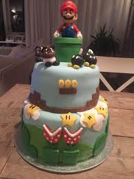 my sister in law made this mario birthday cake for my brother