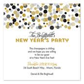 new year invitation invitation wording sles by invitationconsultants new year s