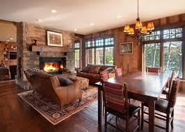 modern cabin living room decor cabin living room decor cabin