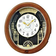 Wooden Wall Clock Wall Clocks Seiko Wooden Wall Clock Seiko Wood Square Wall Clock