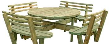 Free Plans For Round Wood Picnic Table by Wooden Gates Fencing Fence Panels Decking Free Delivery Available