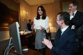 duchess of cambridge gets down to work as guest editor of huffpost