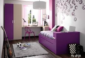 modern home interior purple color with white color painting ideas