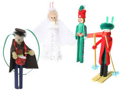 clothespin ornaments old fashioned christmas pinterest shops