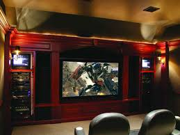 home theater media rooms flat panel tv with surround sound