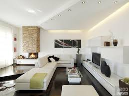 modern and minimalist home interior living room design ideas with