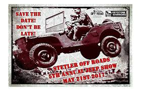 5th annual stetler off road jeep show presented by stetler dodge