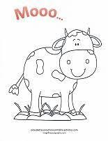 farm animals coloring page coloring pages for kids cow color page animal coloring pages
