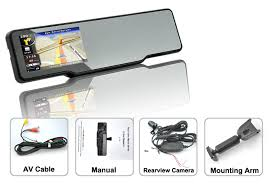 Office Rear View Desk Mirrors Bluetooth Car Rearview Mirror Kit Dash Cam Gps Rearview