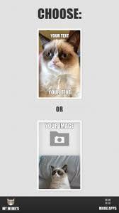 Kitty Meme Generator - grumpy cat meme generator free android app android freeware