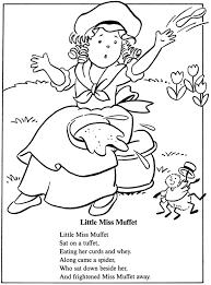 little miss muffet nursery rhymes pinterest teacher stuff