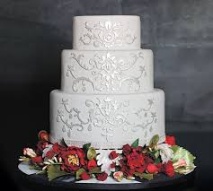 plain wedding cakes what should a winter wedding cake