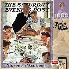 norman rockwell puzzles entertaining and great stress reliever
