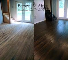 sand stain and seal all of our hardwood floors