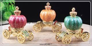 cinderella pumpkin carriage new carriage jewelry trinket box figurine cinderella pumpkin