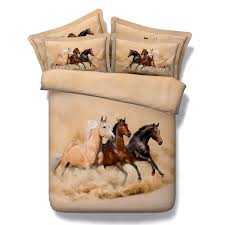 Horse Comforter Twin Horse Bedding Sets Quilt Duvet Cover Bedspreads Bed In A Bag
