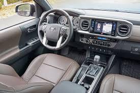1999 Tacoma Interior 2016 Toyota Tacoma 4x4 Double Cab V6 Limited Road Test Review