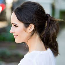 ribbon ponytail the chic ribbon ponytail trend front roe by louise roe