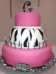 pink and zebra striped food pinterest 12th birthday