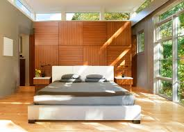 closet behind bed tree house bedroom contemporary bedroom dc metro by moore