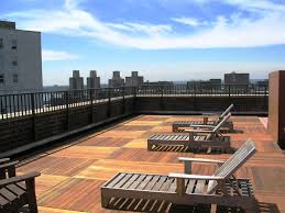 manhattan roof deck terrace from plastic lumber outdoor