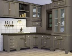 my sims 4 blog country kitchen and cupboard by plasticbox mts