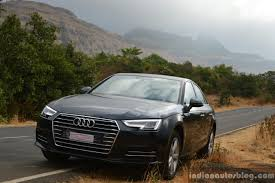 first audi 2017 audi a4 35 tdi front first drive review indian autos blog