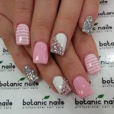 best 25 pink nail designs ideas on pinterest prom nails
