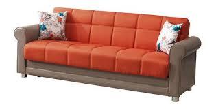 Orange Sofa Bed by Orange Sofa Bed For Incredible Rupert Orange Velvet 3 Seater Sofa