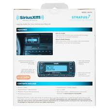 Easy Bill Of Sale For Car by Siriusxm Stratus 7 Satellite Radio With Powerconnect Vehicle Kit