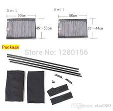 selling aluminum rail car curtains upgraded uv protection side