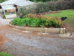 landscape timbers retaining wall cost considering landscape