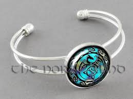knot bracelet silver images Celtic knot bracelet celtic dragon cuff trinity triquetra bangles jpg