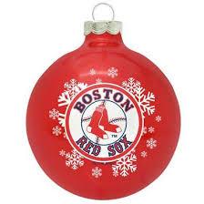 boston sox ornament