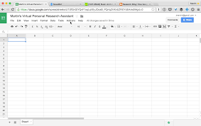 Google Spreadsheet Building A Personal Research Assistant In A Spreadsheet