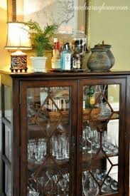 Curio Cabinet With Glass Doors Small Glass Curio Cabinet Display Foter