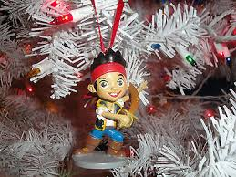 jake and the neverland disney ornament set pvc