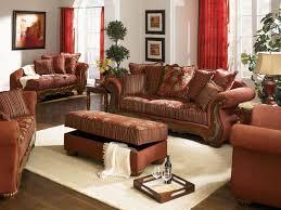 Traditional Livingroom Chenille Fabric Traditional Living Room Savona U142 Red