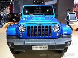 hydro blue jeep jeep wrangler polar special edition frankfurt live